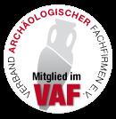 Wir sind Mitglied im VAF -Verband der archäologischen Fachfirmen NRW e.V.